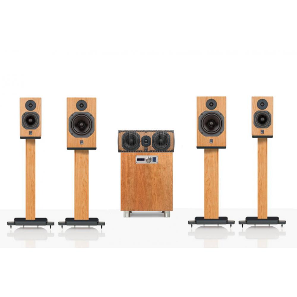 """""""ATC 5.1 SCM11-C1C-7AV"""" – Комплект акустики для домашнего кинотеатра 5.1 ATC Loudspeakers линейки доступного Hi-End."""
