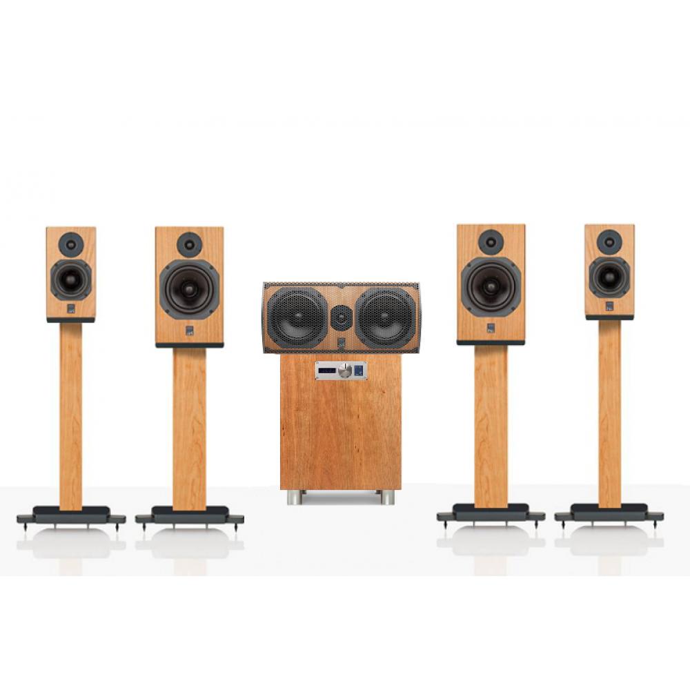 """""""ATC 5.1 SCM11-C3C-7AV"""" – Комплект акустики для домашнего кинотеатра 5.1 ATC Loudspeakers линейки доступного Hi-End."""