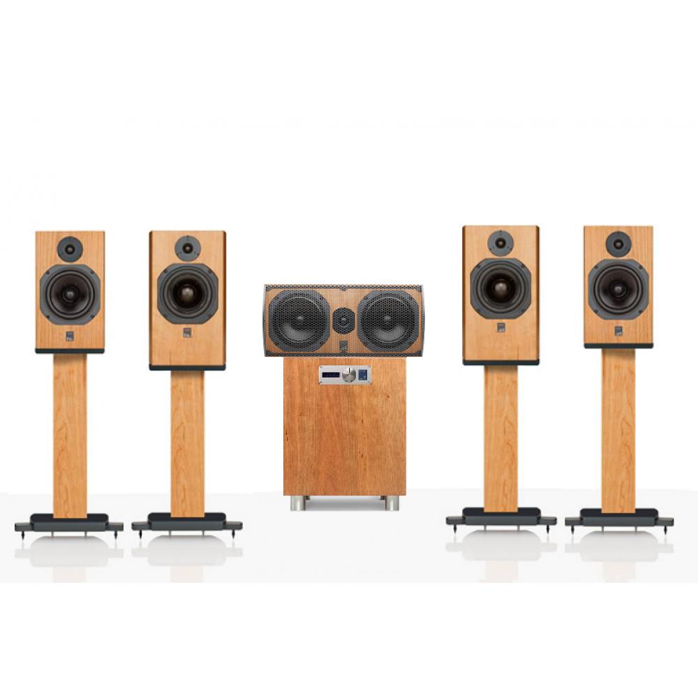 """""""ATC 5.1 SCM19-C3C-11AV"""" – Комплект акустики для домашнего кинотеатра 5.1 ATC Loudspeakers линейки доступного Hi-End."""