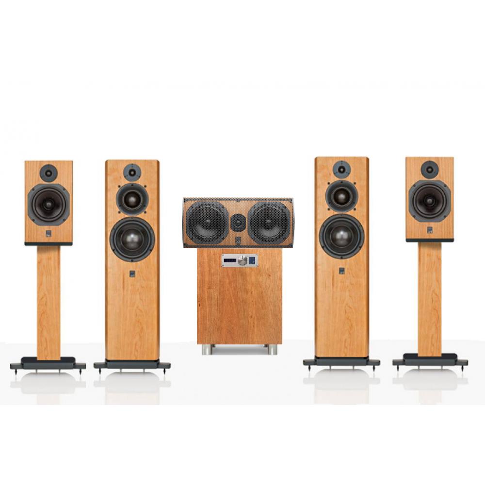 """""""ATC 5.1 SCM40-C3C-11AV"""" – Комплект акустики для домашнего кинотеатра 5.1 ATC Loudspeakers линейки доступного Hi-End."""