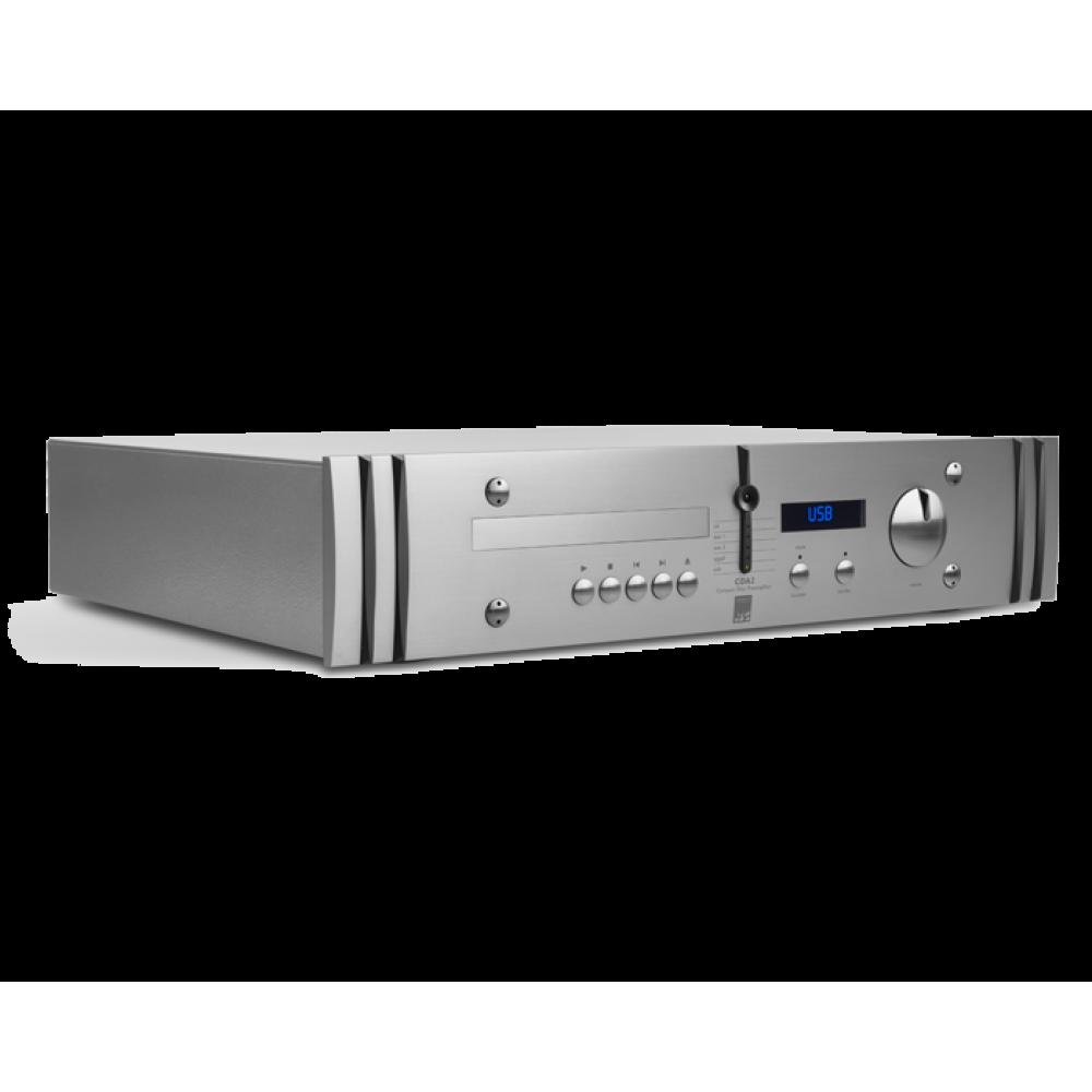 """""""ATC CDA2 mk2"""" – Комбинация CD проигрывателя/USB/DAC/предварительного усилителя."""