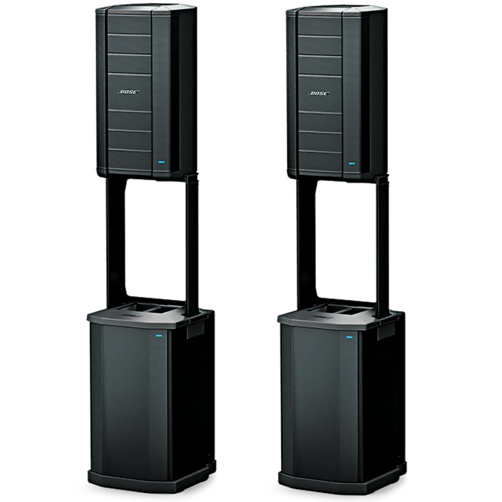 """""""BOSE F1 Stereo 2.2"""" – Линейный массив (ВЧ/СЧ 8 х 2,25"""", НЧ 12"""", САБ 2 х 10"""") звуковой комплект. 4000 Вт."""