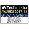 """""""ATC HTS 7"""" – 2-х полосные (ВЧ 1"""", СЧ/НЧ 5"""") пассивные настенные акустические системы линейки доступного Hi-End (цена за шт.)."""