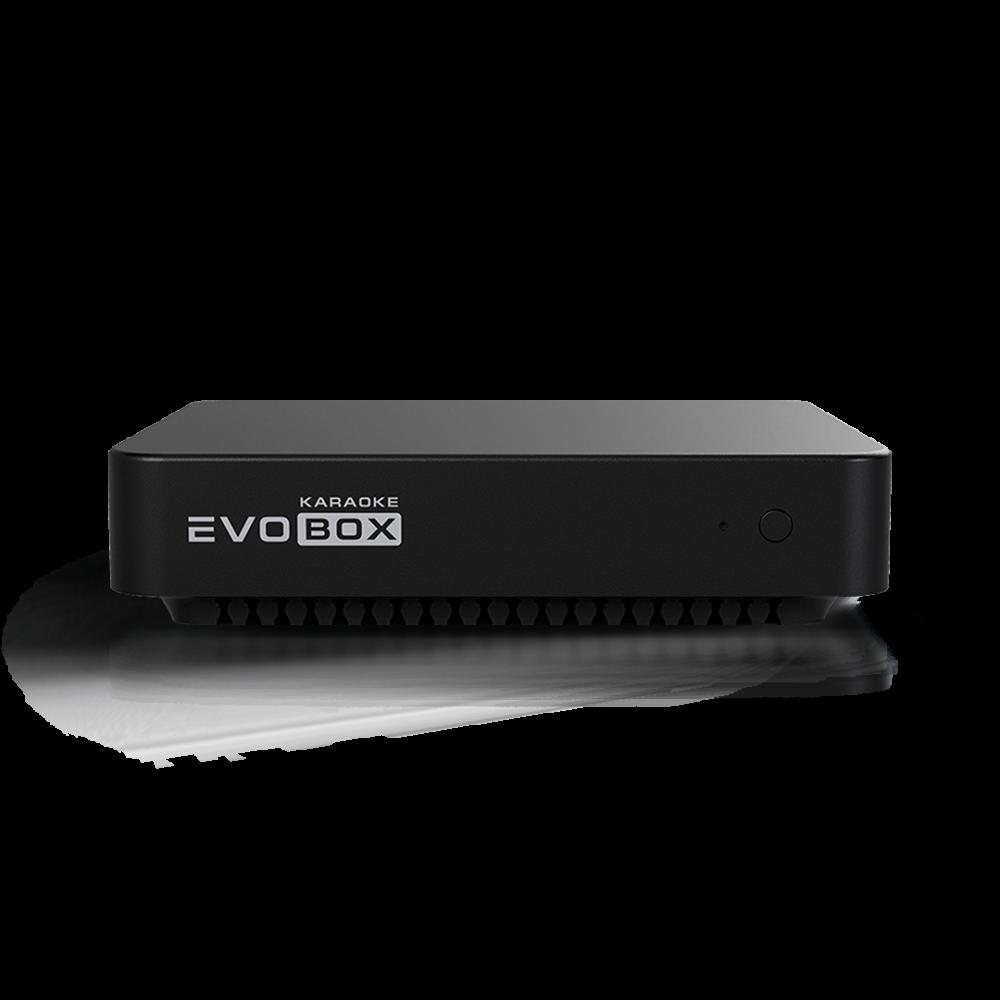 """""""EVOBOX"""" — новая караоке-система для дома от Studio Evolution. Более 80 000 песен* (песни продаются поштучно)."""